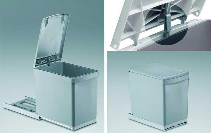 Vuilnisbak Voor Keuken : Afvalemmer – inbouw – afvalemmers – Afvalemmer kast 30 cm – Draaideur